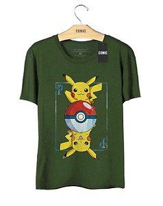 Camiseta Pikachu - Pokemon