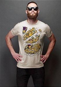 Camiseta Masculina  Minions - Nerd e Geek - Presentes Criativos