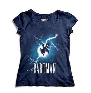 Camiseta Feminina Simpson Bartman - Nerd e Geek - Presentes Criativos