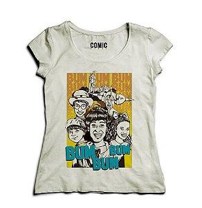 Camiseta Feminina Castelo Ra ti bum  - Nerd e Geek - Presentes Criativos