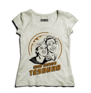Camiseta Feminina Kiko - Meu Tesouro