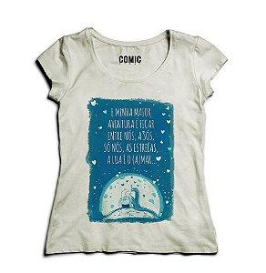 Camiseta Feminina Princess Mononoke  - Nerd e Geek - Presentes Criativos