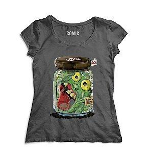Camiseta Feminina Amoeba Moster - Nerd e Geek - Presentes Criativos