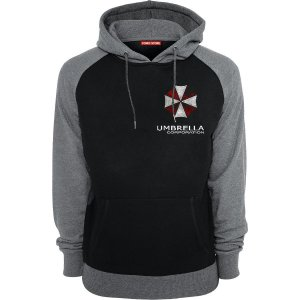 Blusa com Capuz Resident Evil Umbrella Corporation