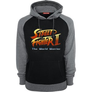 Blusa com Capuz Street Fighter