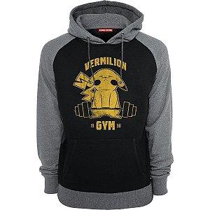 Blusa com Capuz Pokemon Vermilion Gym