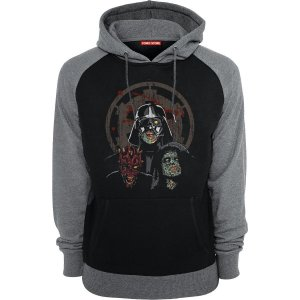 Blusa com Capuz Star Wars Zombies