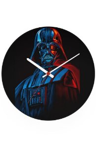 Relógio de Parede Darth Vader - Star Wars