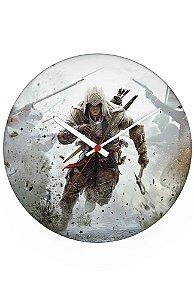 Relógio de Parede Assassin's Creed - Nerd e Geek - Presentes Criativos