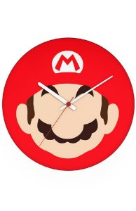 Relógio de Parede Super Mario - Nerd e Geek - Presentes Criativos