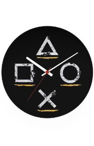 Relógio de Parede Controle Play - Nerd e Geek - Presentes Criativos