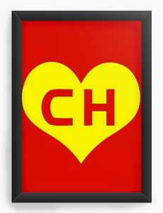 Quadro Decorativo Chapolin - Nerd e Geek - Presentes Criativos