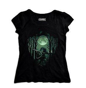 Camiseta Feminina The Legend Of Zelda Link Florest - Nerd e Geek - Presentes Criativos