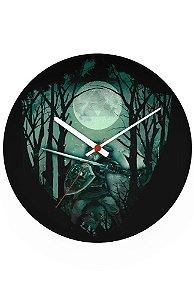 Relógio de Parede Link Florest - Nerd e Geek - Presentes Criativos