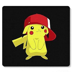 Mouse Pad Pikachu 23x20 - Nerd e Geek - Presentes Criativos