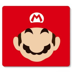 Mouse Pad Super Mario Word Face 23x20