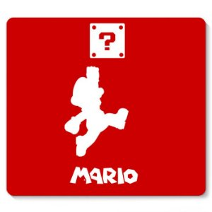Mouse Pad Super Mario Word Up 23x20