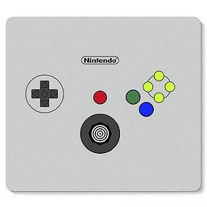 Mouse Pad Controle Nintendo 23x20 - Nerd e Geek - Presentes Criativos