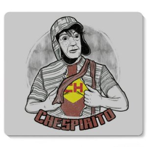 Mouse Pad Chaves 23x20 - Nerd e Geek - Presentes Criativos