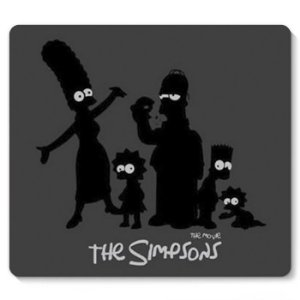 Mouse Pad The Simpsons 23x20 - Nerd e Geek - Presentes Criativos