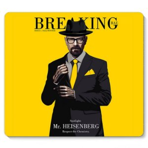 Mouse Pad Breaking Bad 23x20