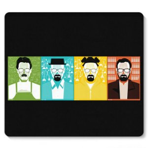 Mouse Pad Breaking Bad 23x20 - Nerd e Geek - Presentes Criativos