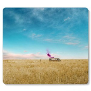 Mouse Pad Breaking Bad - Heisenberg 23x20 - Nerd e Geek - Presentes Criativos