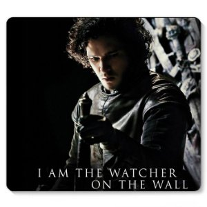 Mouse Pad Game of Thrones -Jon Snow 23x20