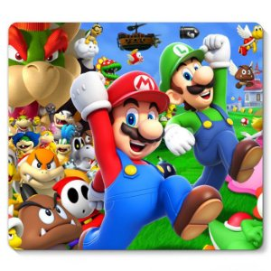 Mouse Pad Super Mario e Luigi 23x20