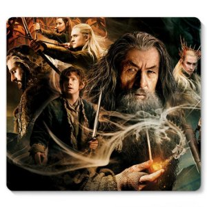 Mouse Pad The Hobbit 23x20 - Nerd e Geek - Presentes Criativos