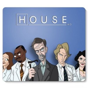 Mouse Pad Dr House 23x20 - Nerd e Geek - Presentes Criativos