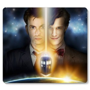 Mouse Pad Doctor Who 23x20 - Nerd e Geek - Presentes Criativos