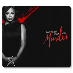 Mouse Pad How to Get Away with Murder 23x20 - Nerd e Geek - Presentes Criativos
