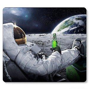 Mouse Pad Astronauta 23x20 - Nerd e Geek - Presentes Criativos