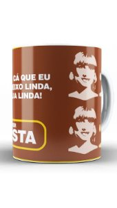 Caneca Hora do Arrepiu - Nerd e Geek - Presentes Criativos