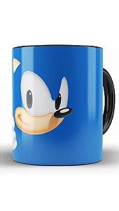Caneca Sonic - Nerd e Geek - Presentes Criativos