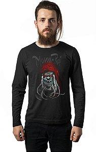 Camiseta Masculina  Manga Longa Thundercats - Nerd e Geek - Presentes Criativos