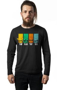 Camiseta Masculina  Manga Longa Pokemon - Nerd e Geek - Presentes Criativos