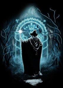 Camiseta Gandalf  - O Senhor dos Anéis