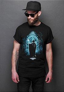 Camiseta Masculina  Gandalf  - O Senhor dos Anéis - Nerd e Geek - Presentes Criativos