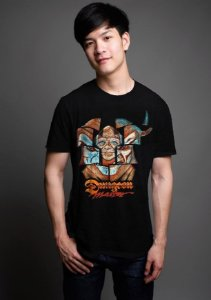 Camiseta Masculina  Caverna do Dragão - Nerd e Geek - Presentes Criativos