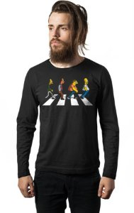Camiseta Manga Longa The Simpsons