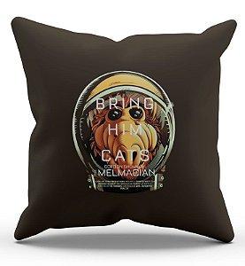 Almofada Decorativa  Alf Bring Him Cats 45x45 - Nerd e Geek - Presentes Criativos