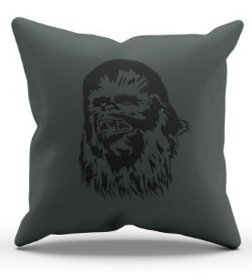 Almofada Decorativa  Chewbacca 45x45 - Nerd e Geek - Presentes Criativos