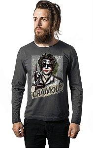 Camiseta Manga Chamou?