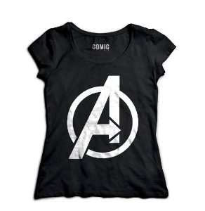 Camiseta Feminina The Avengers