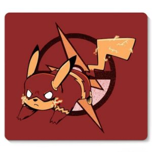 Mouse Pad Pikachu Flash - Nerd e Geek - Presentes Criativos