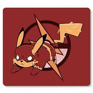 Mouse Pad Pikachu Flash - Nerd e Geek - Presentes Criativos
