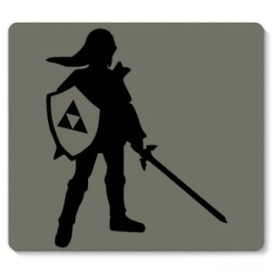 Mouse Pad The Legend of Zelda - Link