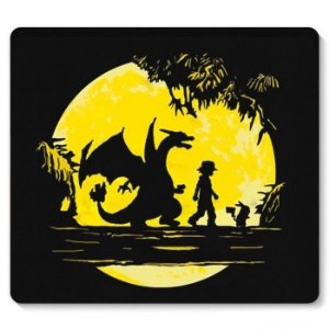 Mouse Pad Pokemon - Ash - Nerd e Geek - Presentes Criativos